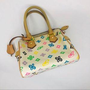 Small women's vintage handbag